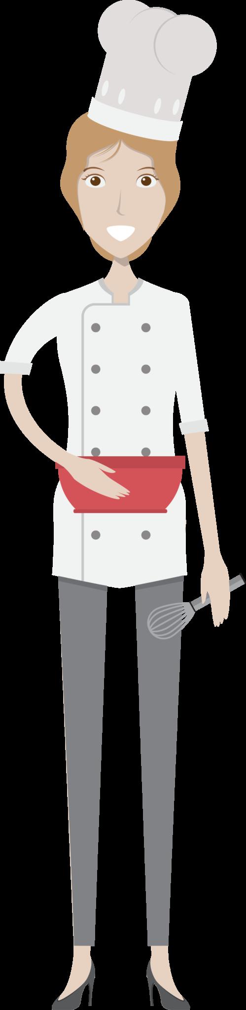 Female Baker Character